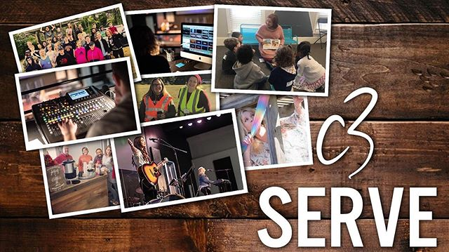 For those of you interested in getting more involved in the life of our church, the Serve class is for you! Join us this Sunday morning at 9am.