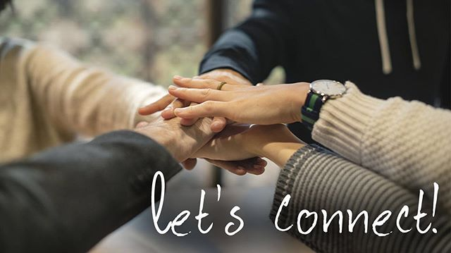Tomorrow is Connect Sunday!  We cannot wait to see you in the morning and share all the wonderful connect groups that will be launching in September!