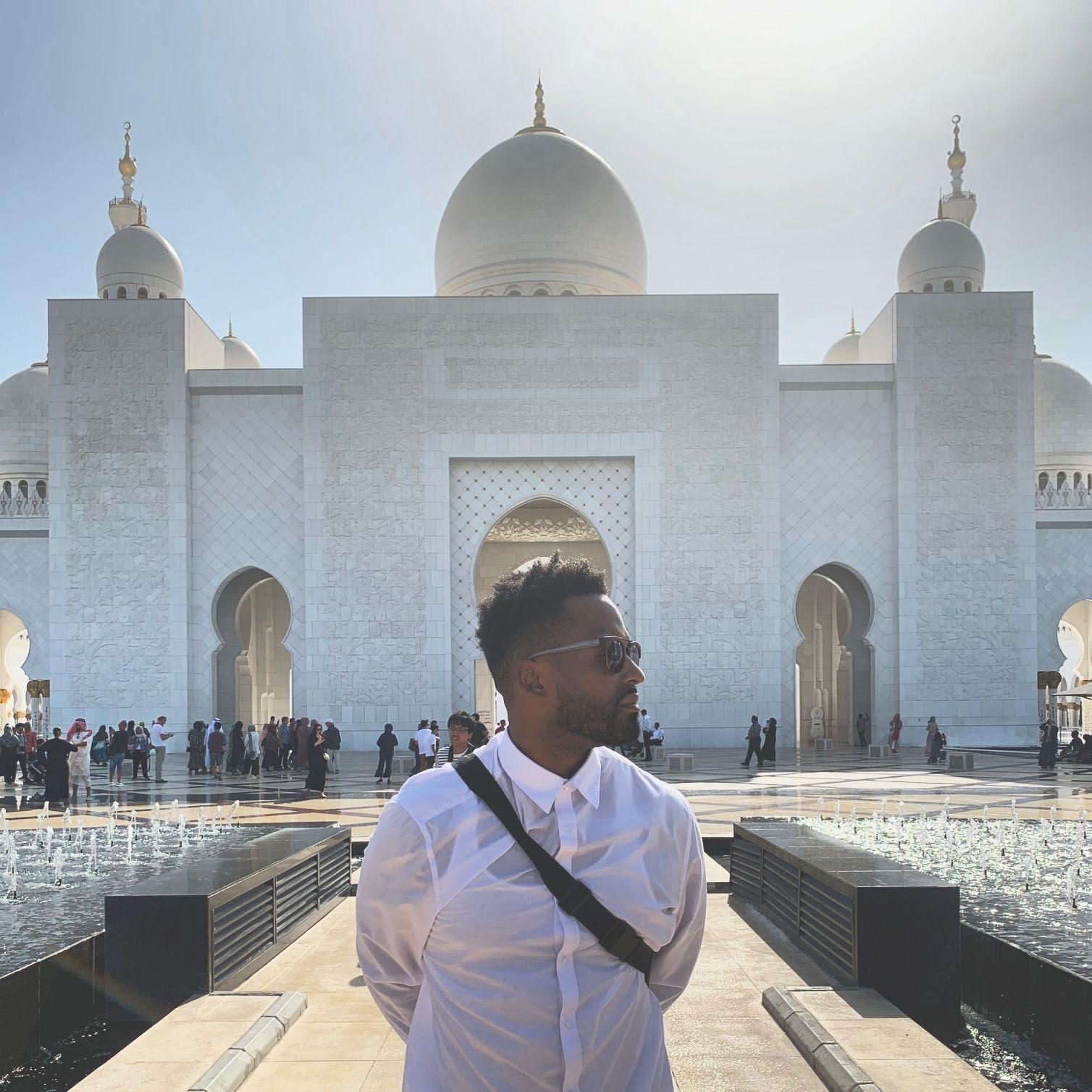 Abu Dhabi - UAE, Sheikh Zayed Grand Mosque Center