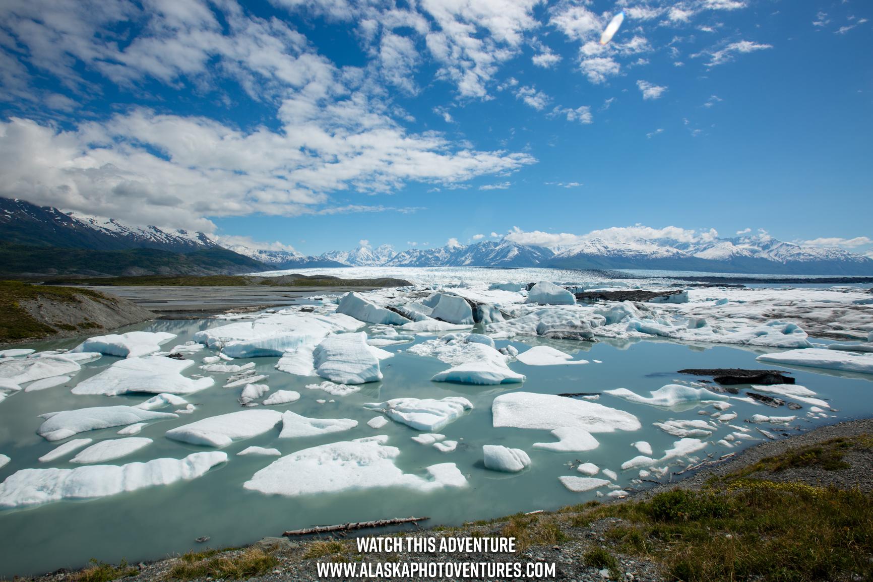 Knik Glacier Alaska