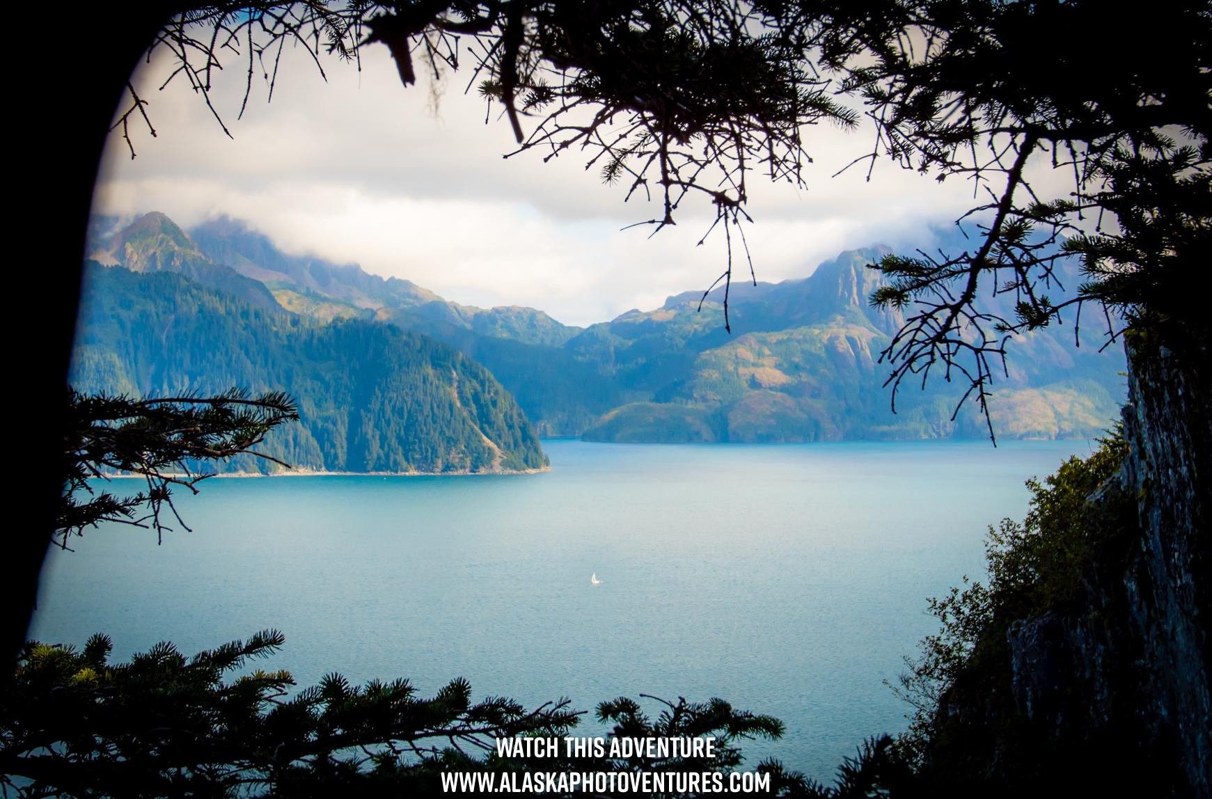Resurrection Bay Caines Head Seward Alaska
