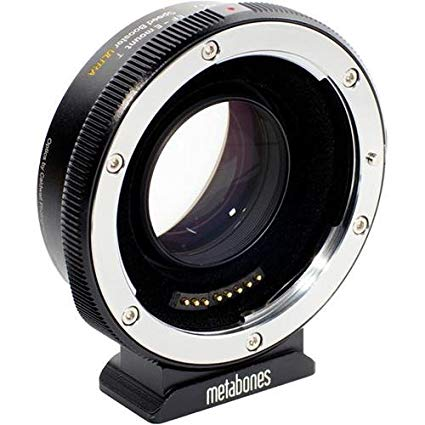 Metabones Speed Booster - Goes between my camera and lenses. It increases maximum aperture, increases MTF and makes lenses wider. It also acts as an adapter allowing me to use Canon lenses. This one is a big component to delivering that cinematic look as it helps give me more depth of field.