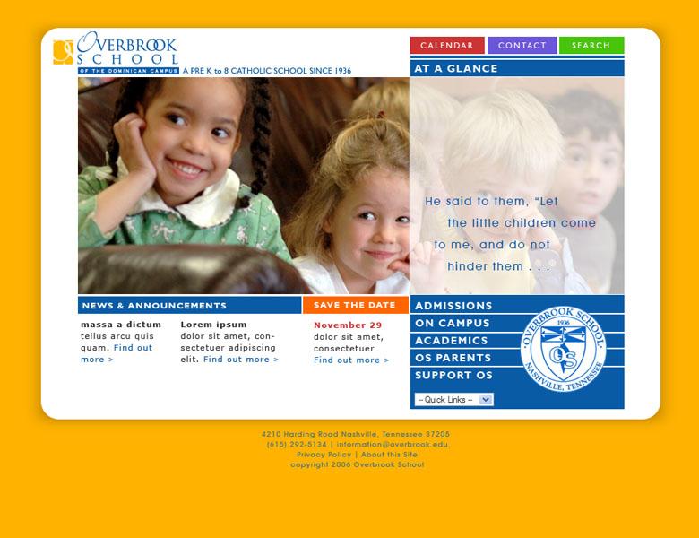 Custom design / build: Overbrook School Nashville