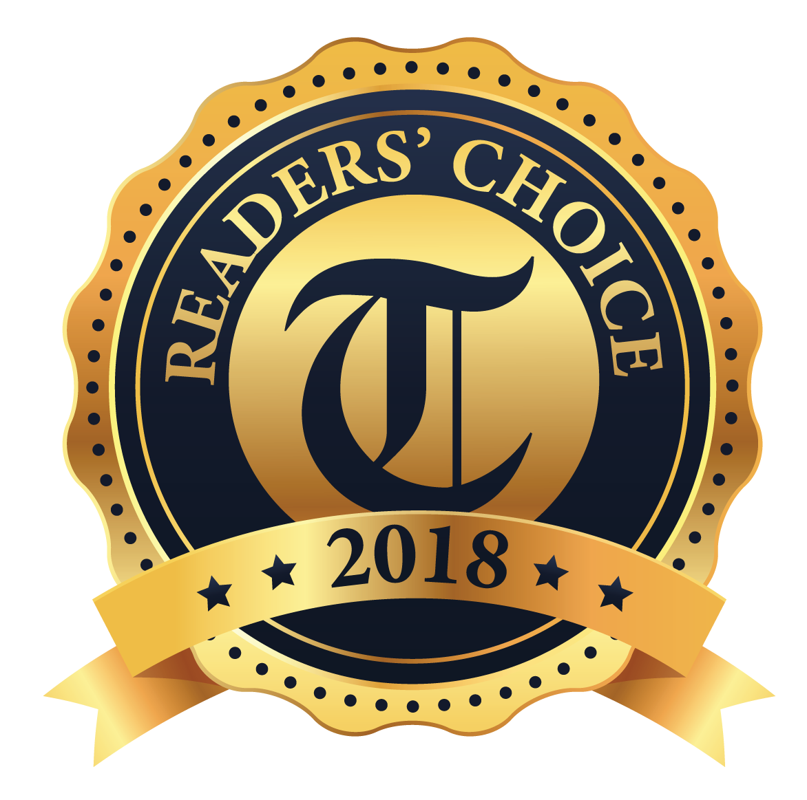 Readers Choice 2018 - Thank you for voting Sunrise Bakery in the category of Best Wedding Cakes in the 209!