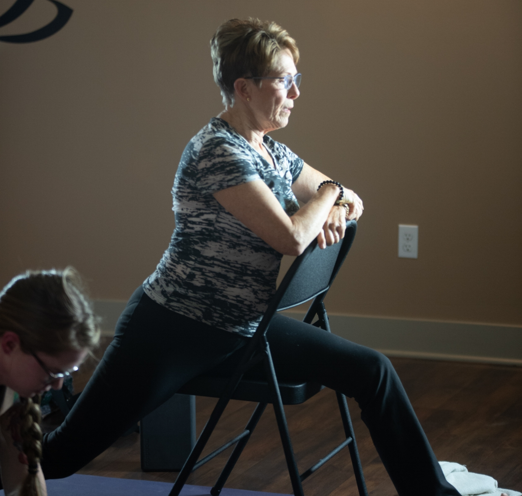Adapted / Gentle Yoga - An instruction-heavy class that moves at a gentle pace and incorporates props and modifications to adapt to your needs – chairs, blocks, bolsters, blankets, and straps and all!This class is accessible and adapts to anyone with a physical restriction or contraindication. Appropriate for all levels including first-timers and those with limitations.For adults or kids 15 and up or under 15 with an adult practicing too.
