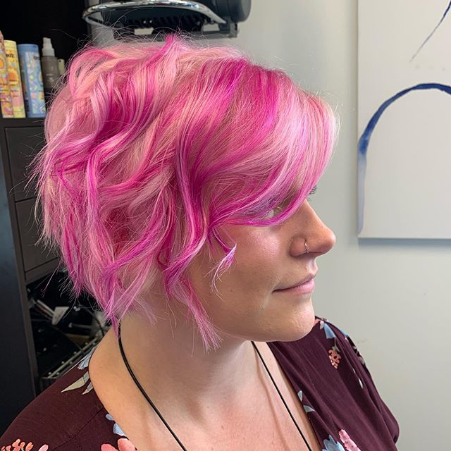 .....And sometimes you need a little more pink.  #pinkhair #pinkhairdontcare