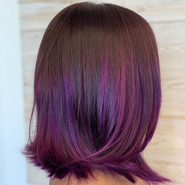 #purplehairdontcare  Come see me at my new location, @sixeastsalon  in Frederick, MD.