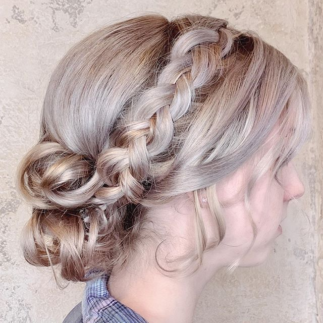 Homecoming, weddings, special events....I'm ready. #updo #braids #updowithbraids #weddingupdo #homecominghair #weddinghair #frederickhairstylist