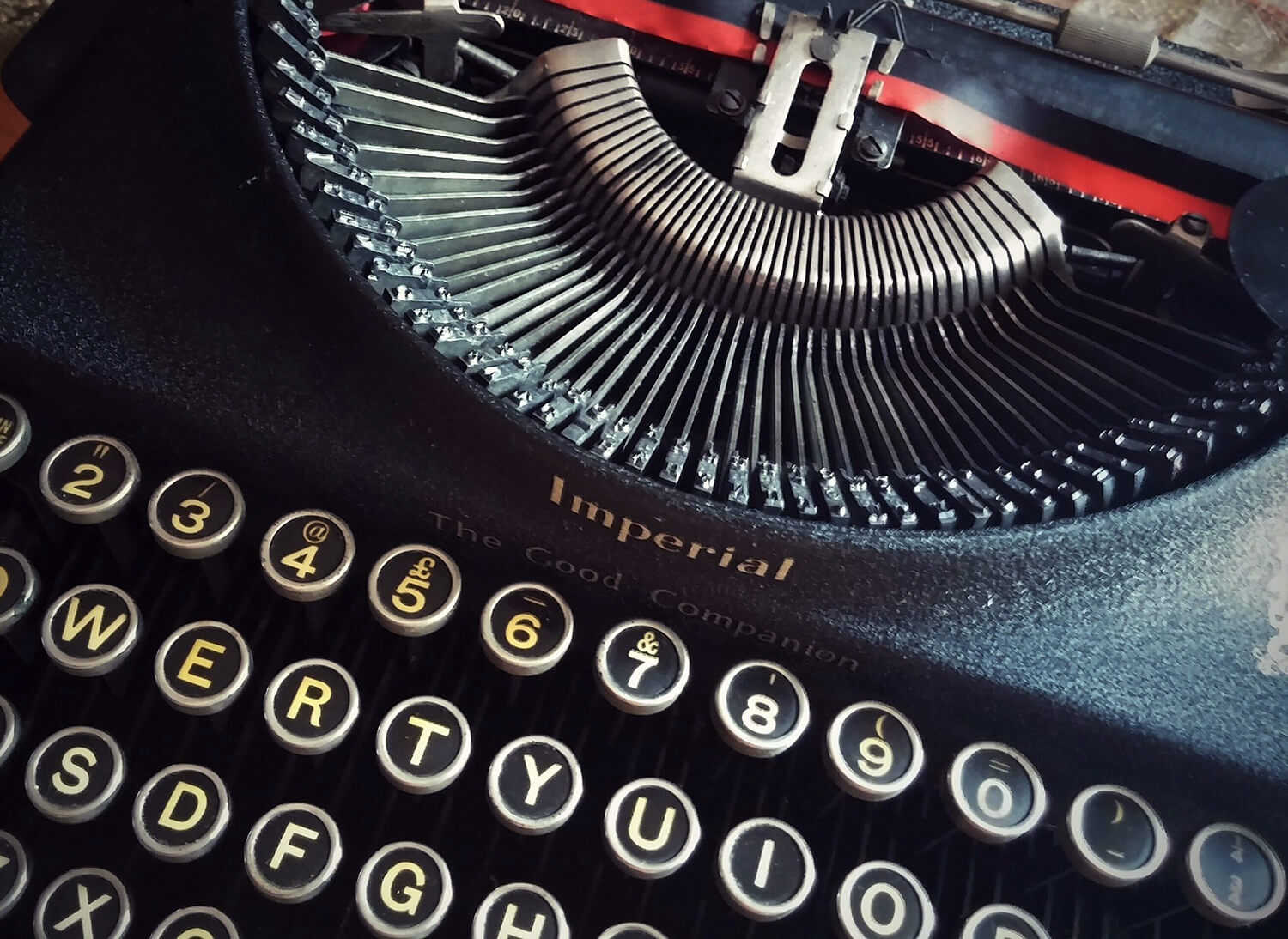 We won't reply using our typewriter ... we promise.