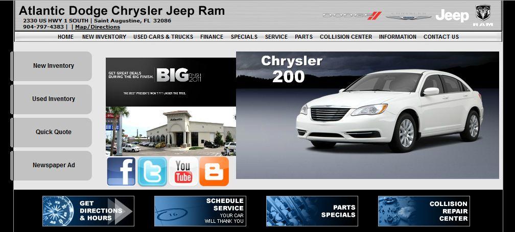 Atlantic Dodge Chrysler Jeep