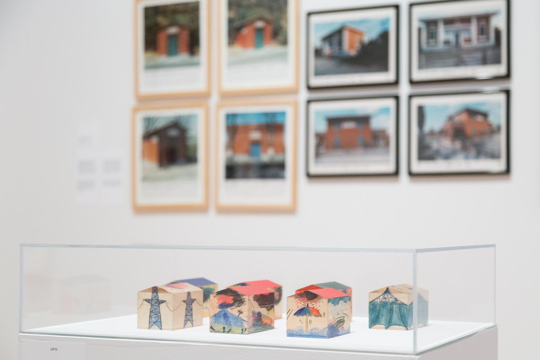 Centre Canadien d'Architecture   Mise en place finale, visite de presse et vernissage  Utopie Radicali : Florence 1966-1976
