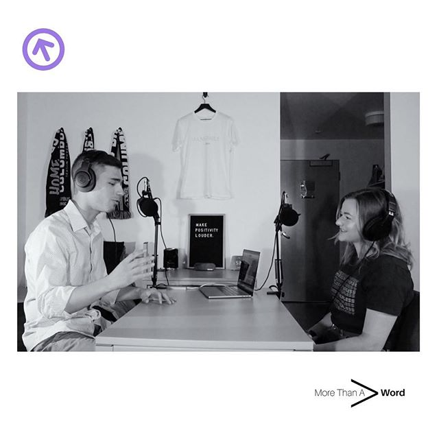Episode 34: PERSPECTIVE is out now. - I greatly admire this individual for the meaningful action that she creates. Every. Single. Day. @sydsparesstories is working to change the narrative surrounding homelessness in this country, through the vehicle of storytelling. She's out in the community, practicing what she preaches, as she takes strides in the name of acceptance, empathy, acknowledgement, and respect. Her mission is admirable, but most importantly, it is necessary. Thank you, Sydney, for sharing your story with me. Beyond excited to bare witness to your progress. - Be sure to check out this 17 minute episode! I truly appreciate every second of your time, and your listen. Appreciate you💜(follow the purple arrow). - #MoreThanAWord #perspective #podcast #sunday #love #empathy #stories #homelessness