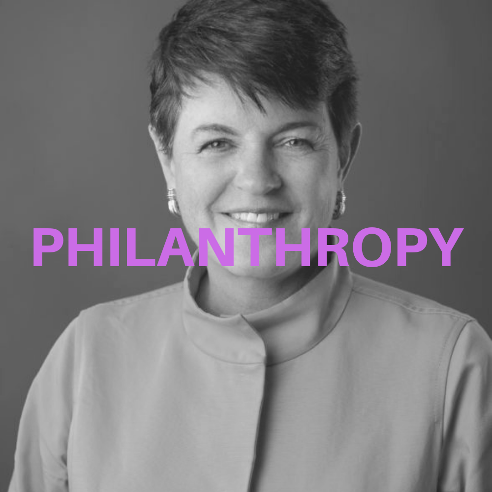 PHILANTHROPY, Lisa Courtice