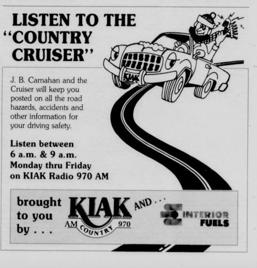 Dailiy News-Miner ad, Dec. 24, 1989