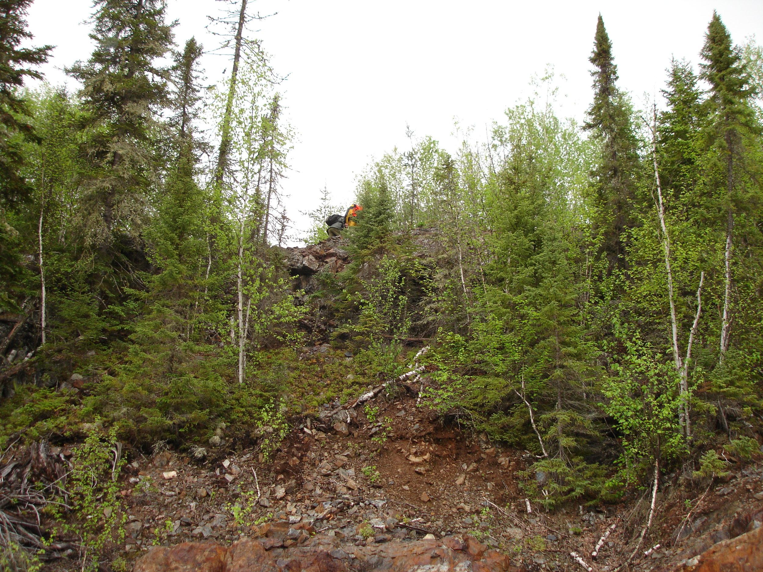 Uphill from Main Zone.JPG