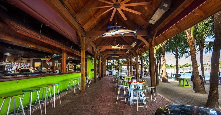 Square Grouper Tiki Bar - One of the most popular watering holes in the United States!From the Square Grouper website: