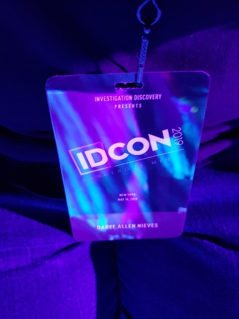 My #IDCON2019 badge— I'm official!