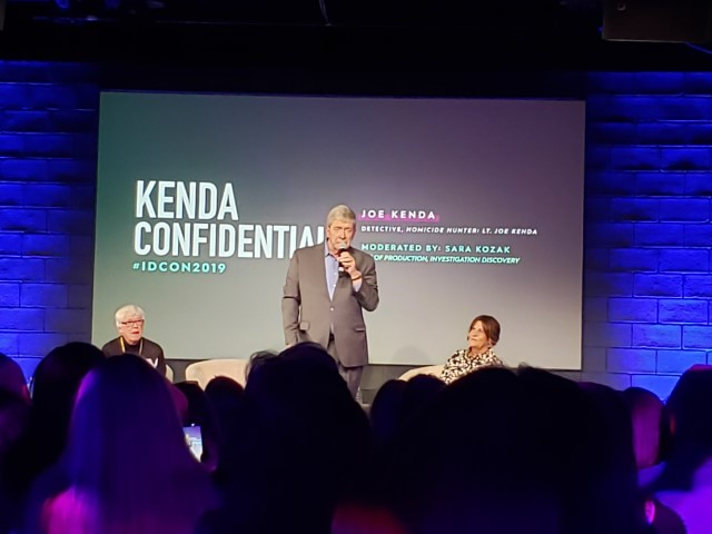 Lt. Joe Kenda stood up to explain why Season 9 would be the last for  Homicide Hunter.