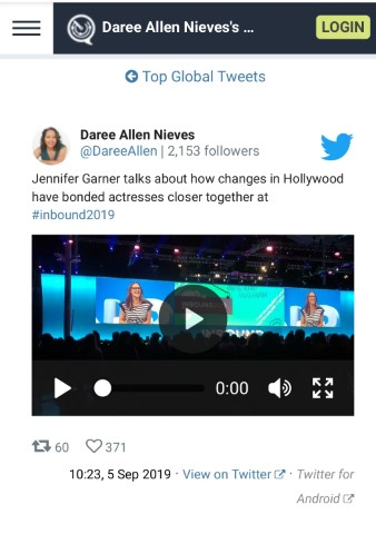The short video snippet I posted above on Twitter actually went viral!