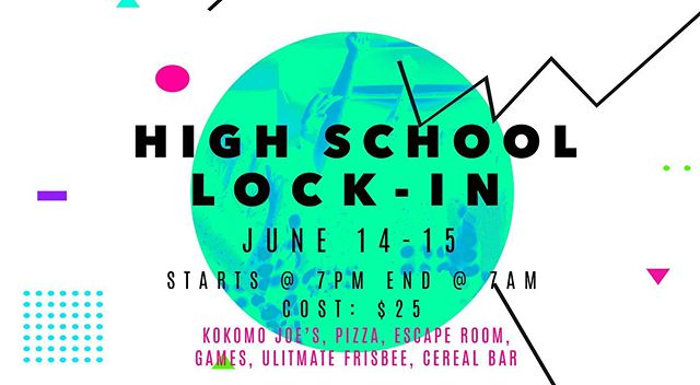 Lock-in is tomorrow at 7pm!