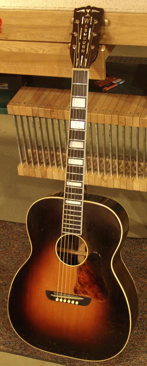 Washburn Tonk 5257-1/2. The Solo Deluxe. Circa 1936