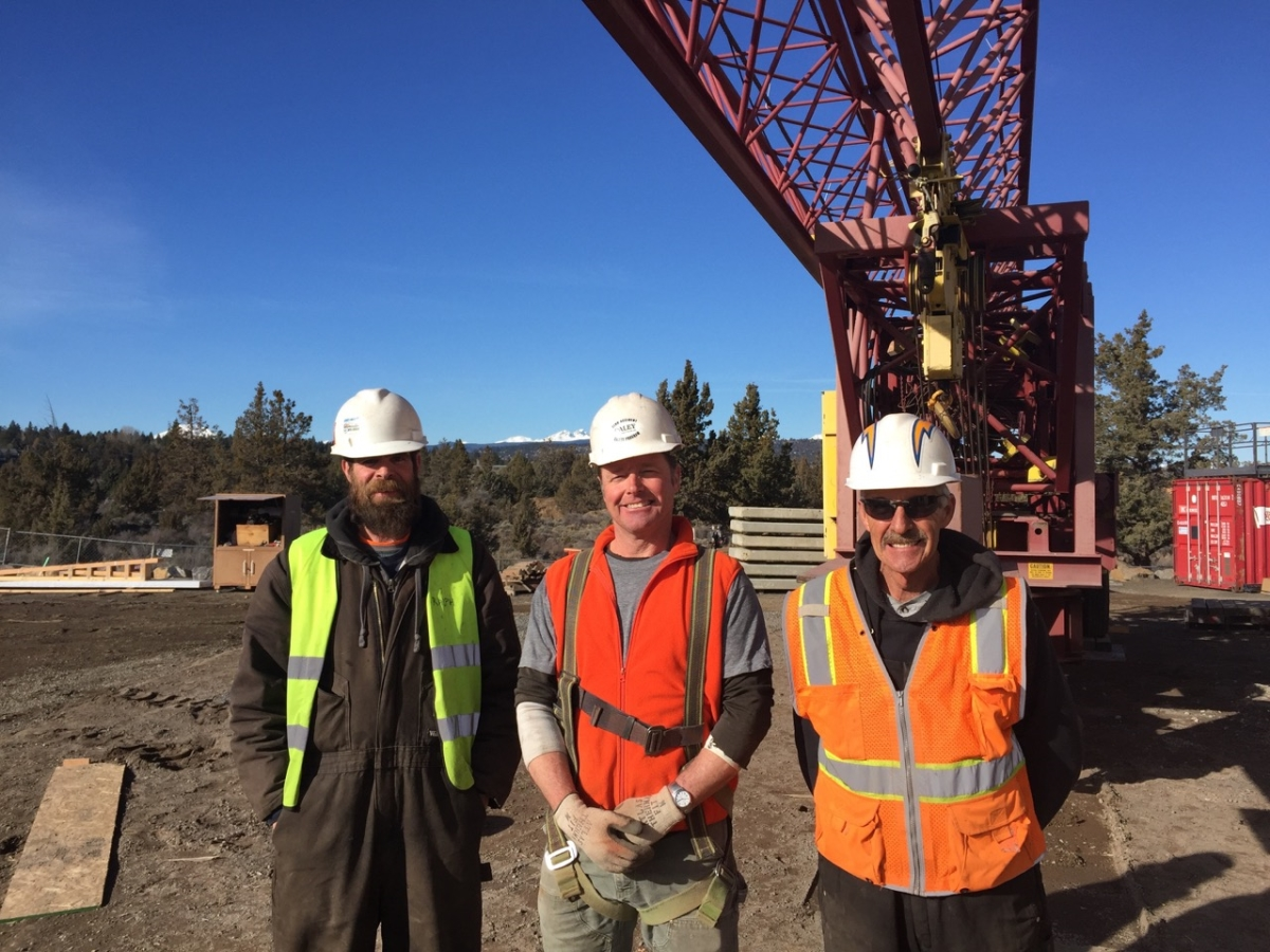Daley Crane Team at Janis Medical, Bend OR Feb 2016