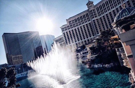 Bellagio Water Show -