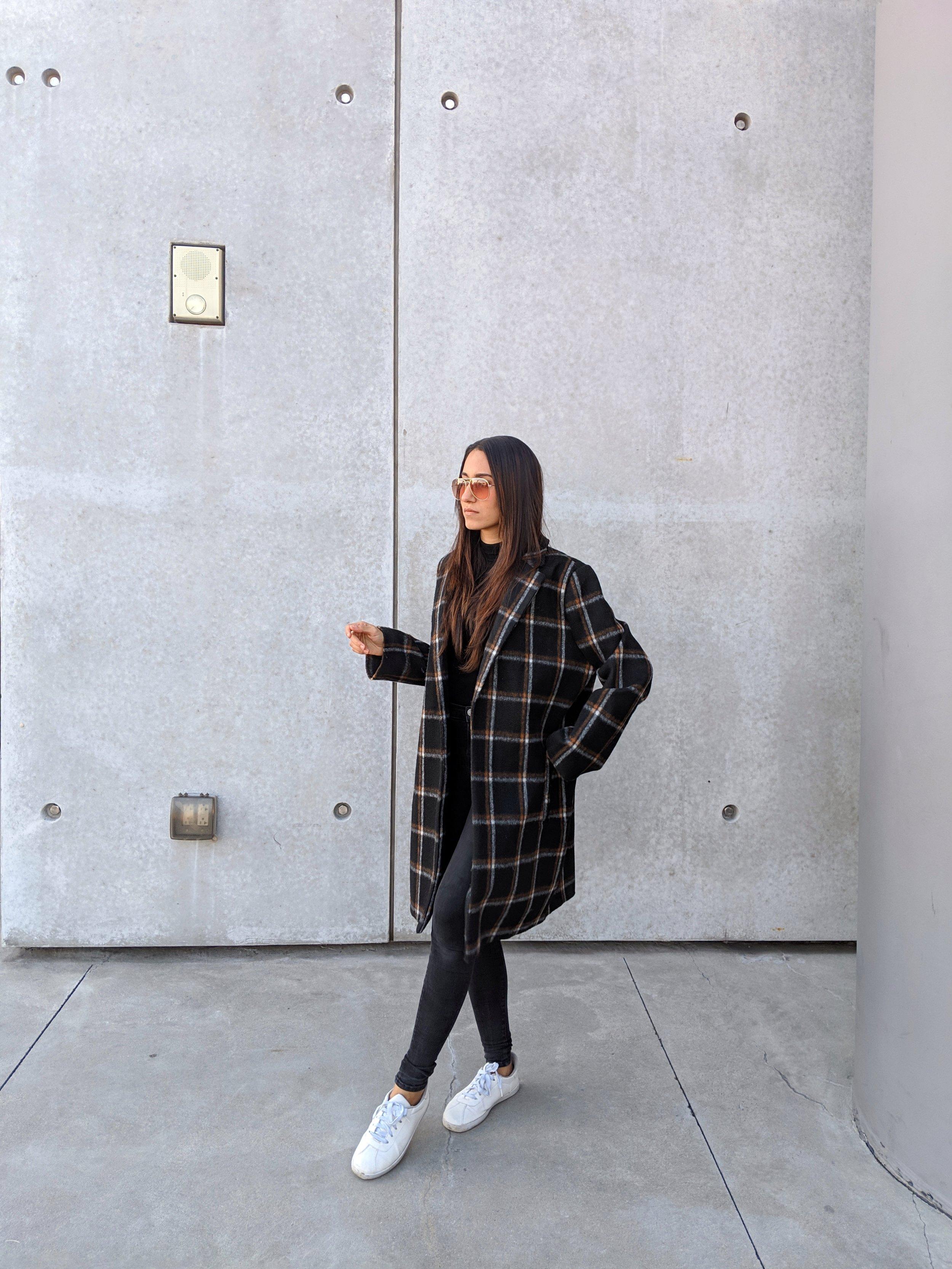 Wearing:  Nordstrom   Coat