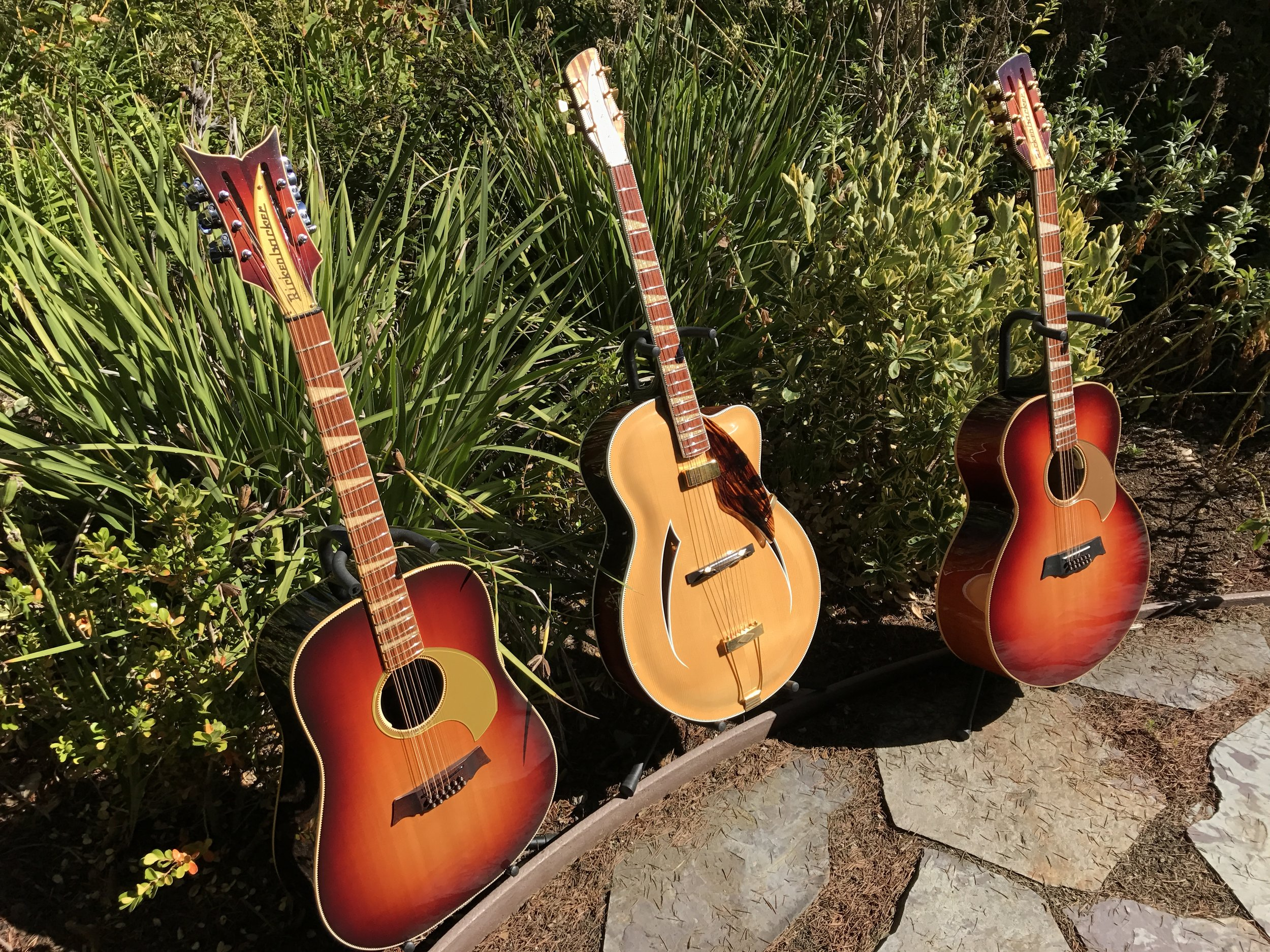 """THE JUMBOS AND JAZZBO ARE ALL 16 1/4"""" GUITARS"""
