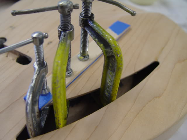 GLUED, REINFORCED, CLAMPED