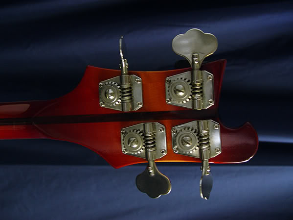 HEADSTOCK BACK WITH ORIGINAL ELEPHANT-EAR TUNERS