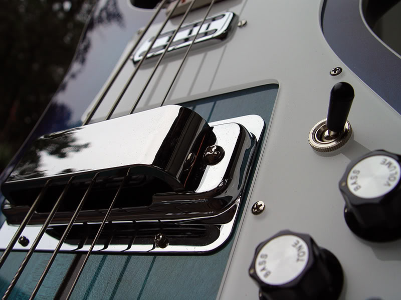 NOTE EDGE OF CLEAR PICKGUARD