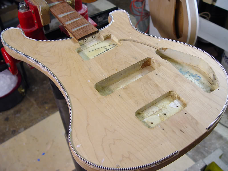 AFTER STRIPPING THE FINISH...