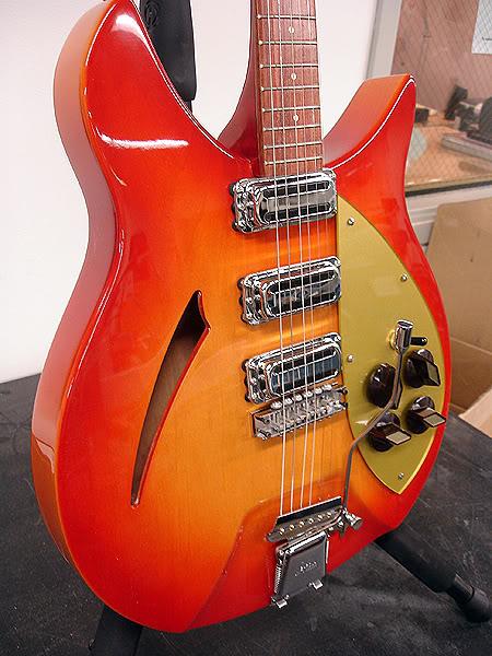 BRIGHT FIREGLO 1959 345 CAPRI