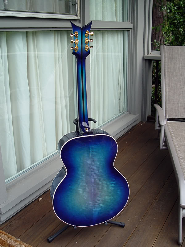 "REAR VIEW SHOWS ""FISHTAIL"" AND SQUARE NECK HEEL."
