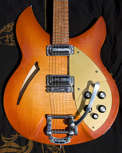 """POPSICLE BURST"" 330 WITH BIGSBY VIBRATO"