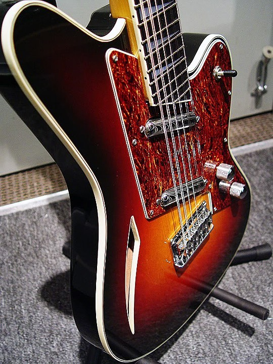 ONE-OF-A-KIND CUSTOM THREE-COLOR SUNBURST TOP FINISH