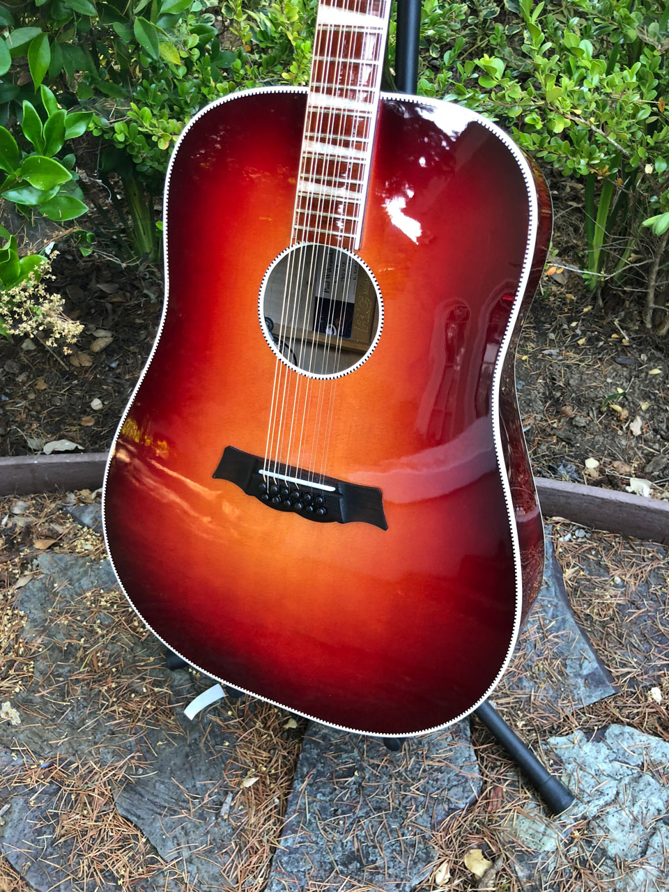 1999 730L/12 AMBER FIREGLO DREADNOUGHT RESTORATION