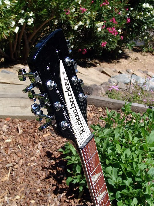 TIMELESS 12-STRING RICKENBACKER HEADSTOCK DESIGN