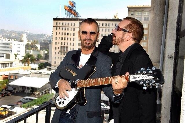 RINGO STARR SERENADES DAVE ON THE 360/12