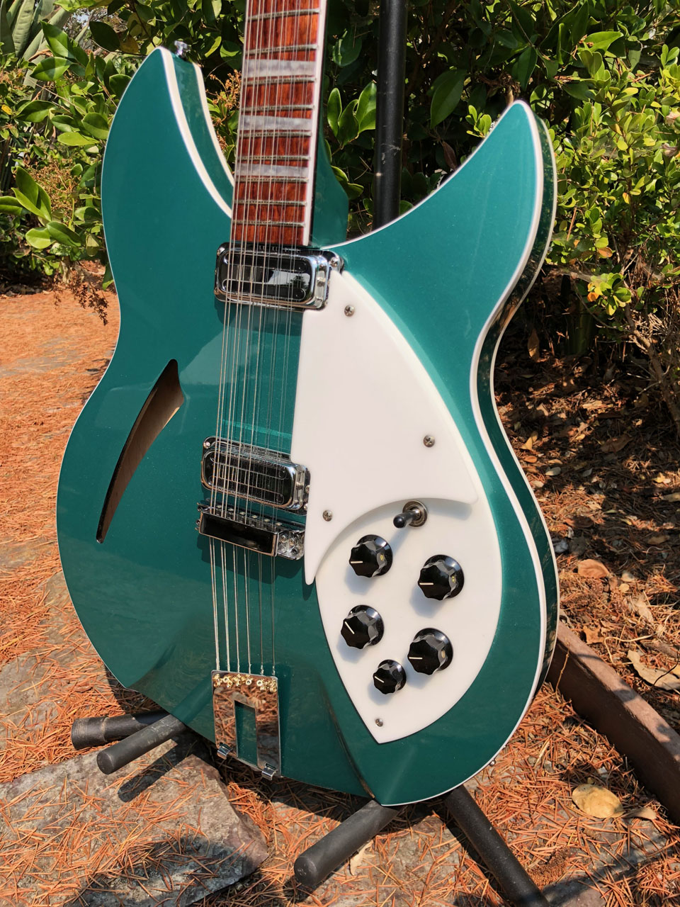 CLASSIC RICKENBACKER DETAILS DATE FROM 1964