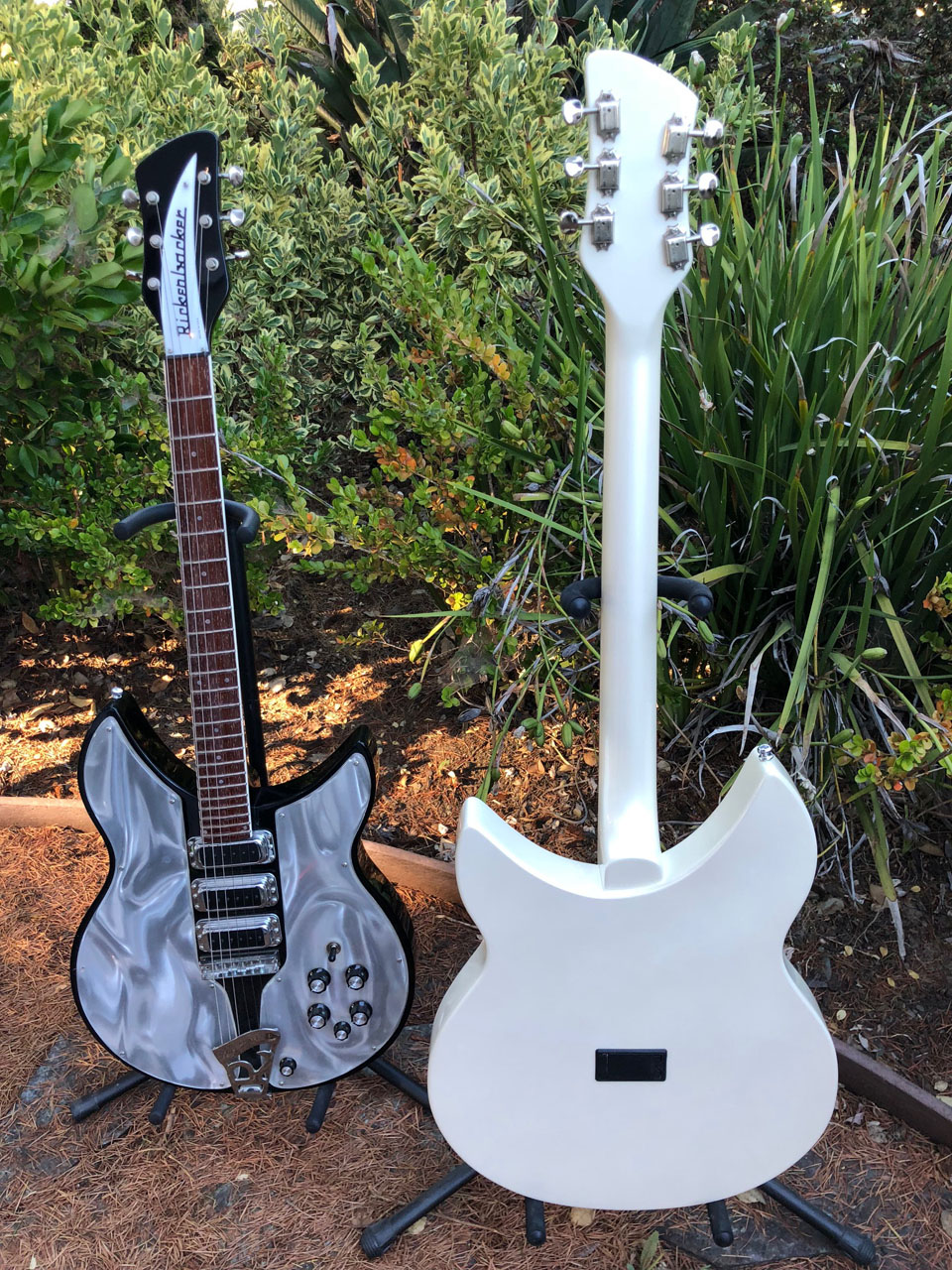 ...THE PEARL WHITE'S BATTERY BOX REVEALS ITS SOLID STATE NATURE