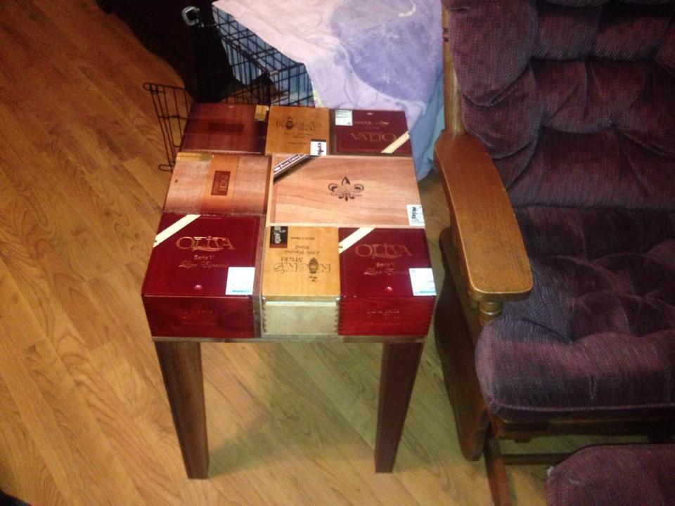 Cigar Box Table