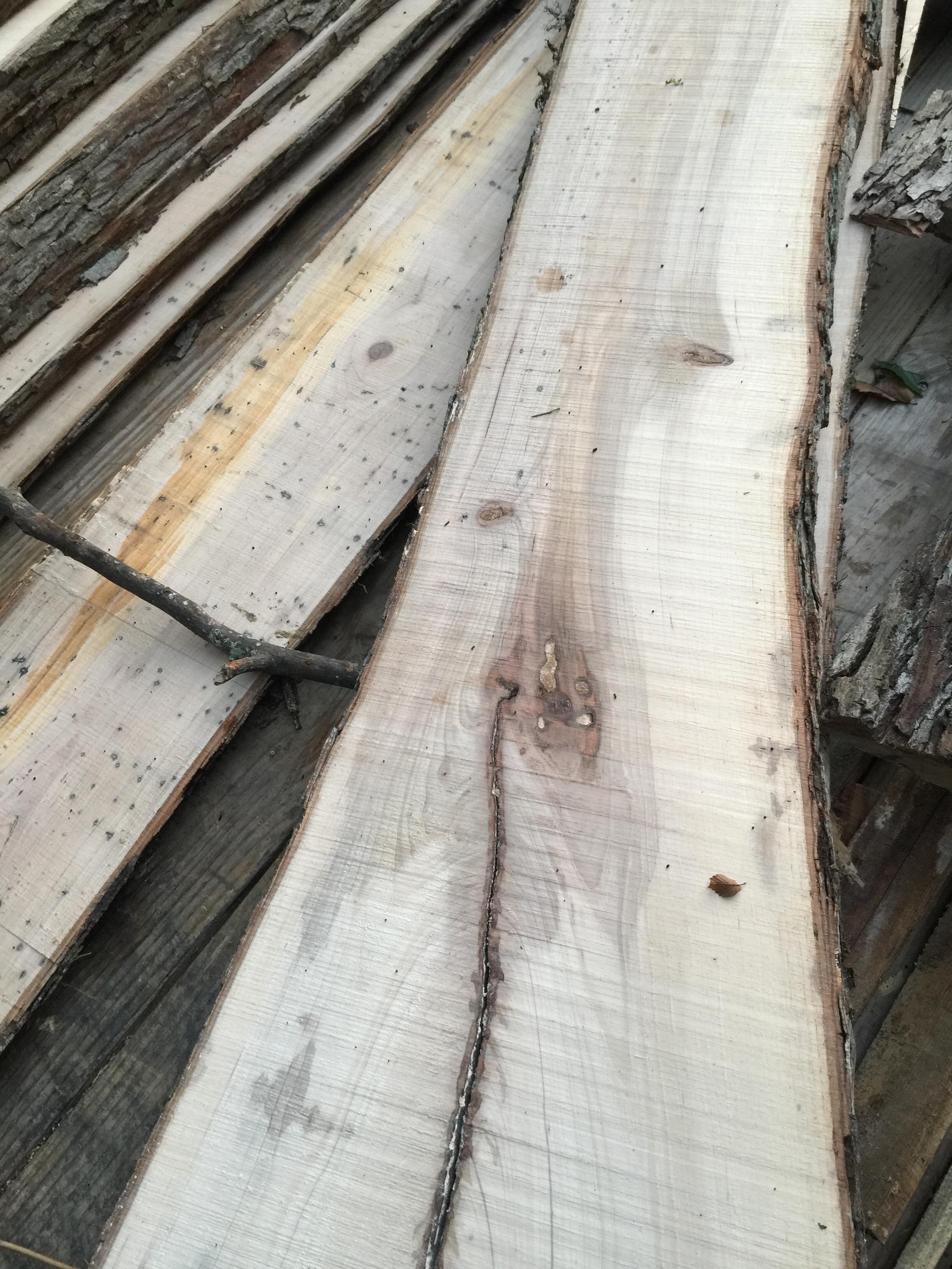 Hickory slabs