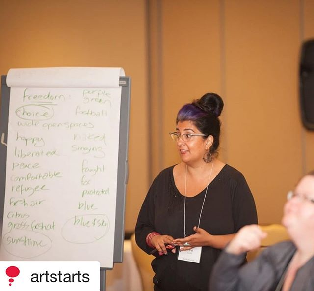Exciting  news! Working with ArtStarts in Schools for the last several years has been such a joy. Happy to expand the journey 💛 Link in bio. ⁣ ⁣ Repost @artstarts ・・・⁣ Our Artist in the Classroom Directory for the 2019-20 year is live & we're excited to highlight some of the new artists you could collaborate with for the upcoming school year!⁣⁣ ⁣⁣ Amal Rana (@cambiumeducation) is a Pushcart Prize-nominated poet and interdisciplinary storyteller specializing in opening up spaces in classrooms to celebrate inclusion, belonging and equity through a deeply heart centred and creative approach. She has over 15 years of experience facilitating arts-based workshops for youth of all ages in classrooms, community programs, and other settings. Using a blend of poetry, creative writing, performance, and storytelling, her work invites in creative expression in multiple languages and celebrates the beauty found in the diverse cultural backgrounds and communities of the youth she works with.⁣⁣ ⁣⁣ See her full bio on our website!⁣⁣ ⁣⁣ ⁣⁣ .⁣⁣ .⁣⁣ .⁣⁣ .⁣⁣ .⁣⁣ .⁣⁣ #artisessential #artstarts #artistintheclassroom #classroom #school #facilitator #education #cultural #artist #creative #inspiration #creativeskills #learning #makersmovement #creativelife #community