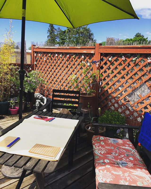 Arts residency prep! Like the flowers blooming spring, we're blossoming some exciting new ideas! Stay tuned! #arts #cambiumarts #cambium #artsresidency #queerart #communityart