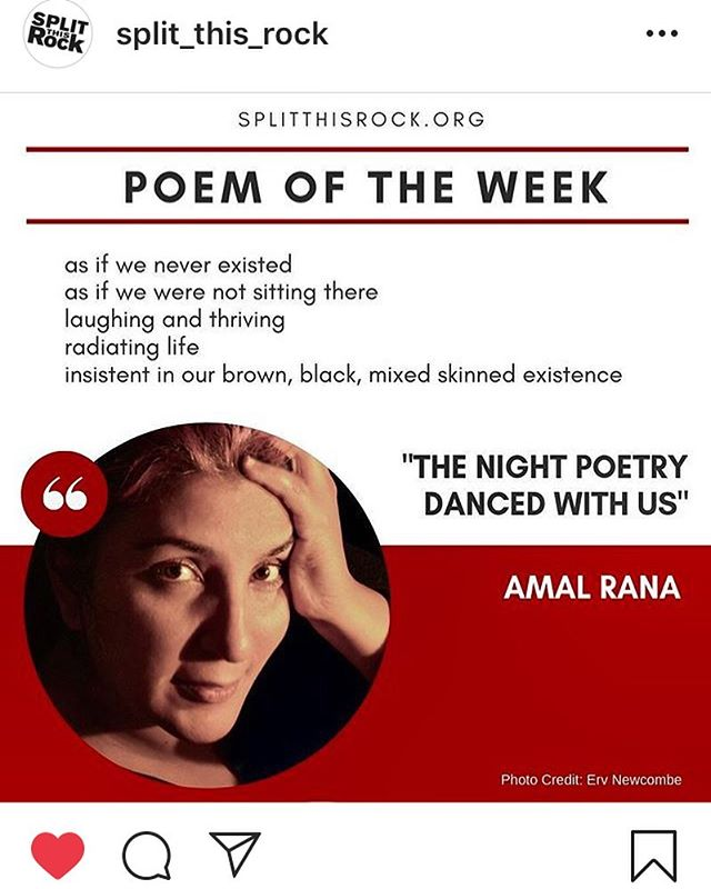 Thank you @split_this_rock on selecting one of  my 2 poetic tributes to the beautiful lives lost at the Pulse nightclub for poem of the week. Link in bio.   This poem is in tribute to the majority QTIPOC, Latinx, Afro-Latinx lives taken that day. And to the Latinx femmes who reaches out to us queer Muslims during the Islamophobic aftermath.   On this 3rd anniversary may we keep remembering and ignoring the future ancestors we lost.  Stanley Almodovar III, 23 years old Amanda L. Alvear, 25 years old Oscar A. Aracena Montero, 26 years old Rodolfo Ayala Ayala, 33 years old Antonio Davon Brown, 29 years old Darryl Roman Burt II, 29 years old Angel Candelario-Padro, 28 years old Juan Chavez Martinez, 25 years old Luis Daniel Conde, 39 years old Cory James Connell, 21 years old Tevin Eugene Crosby, 25 years old Deonka Deidra Drayton, 32 years old Simón Adrian Carrillo Fernández, 31 years old Leroy Valentin Fernandez, 25 years old Mercedez Marisol Flores, 26 years old Peter Ommy Gonzalez Cruz, 22 years old Juan Ramon Guerrero, 22 years old Paul Terrell Henry, 41 years old Frank Hernandez, 27 years old Miguel Angel Honorato, 30 years old Javier Jorge Reyes, 40 years old Jason Benjamin Josaphat, 19 years old Eddie Jamoldroy Justice, 30 years old Anthony Luis Laureano Disla, 25 years old Christopher Andrew Leinonen, 32 years old Alejandro Barrios Martinez, 21 years old Brenda Marquez McCool, 49 years old Gilberto R. Silva Menendez, 25 years old Kimberly Jean Morris, 37 years old Akyra Monet Murray, 18 years old Luis Omar Ocasio Capo, 20 years old Geraldo A. Ortiz Jimenez, 25 years old Eric Ivan Ortiz-Rivera, 36 years old Joel Rayon Paniagua, 32 years old Jean Carlos Mendez Perez, 35 years old Enrique L. Rios, Jr., 25 years old Jean Carlos Nieves Rodríguez, 27 years old Xavier Emmanuel Serrano-Rosado, 35 years old Christopher Joseph Sanfeliz, 24 years old Yilmary Rodríguez Solivan, 24 years old Edward Sotomayor Jr., 34 years old Shane Evan Tomlinson, 33 years old Martin Benite