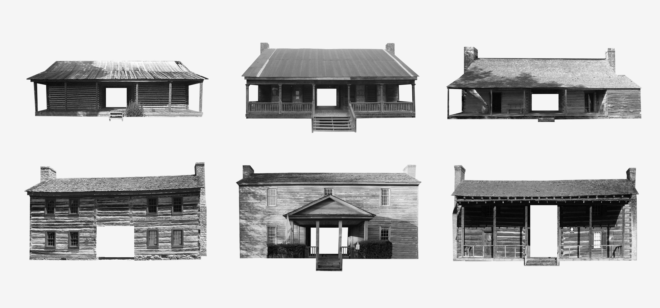 New History One and Two Story Dogtrots are prevalent in the American South.
