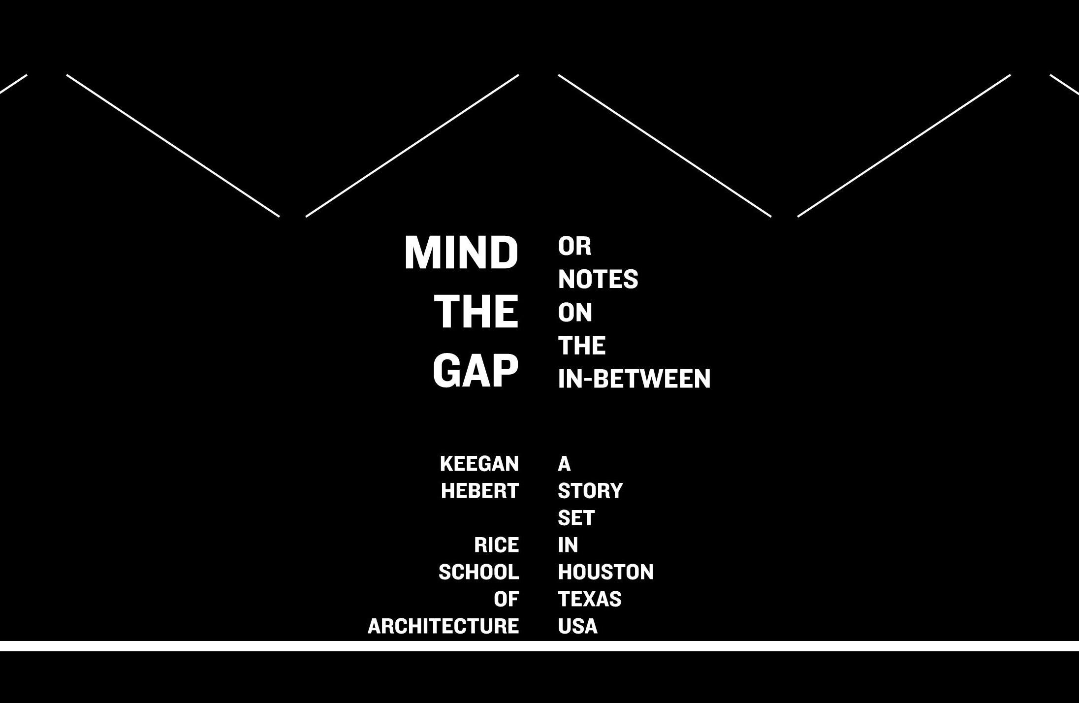 Keegan Hebert Mind The Gap Cover