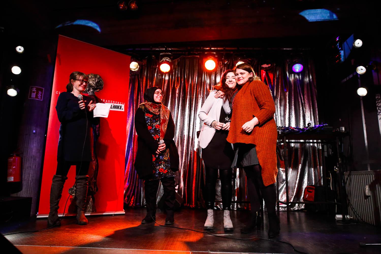 CareSlam bei der Verleihung des Clara-Zetkin-Frauenpreises der P
